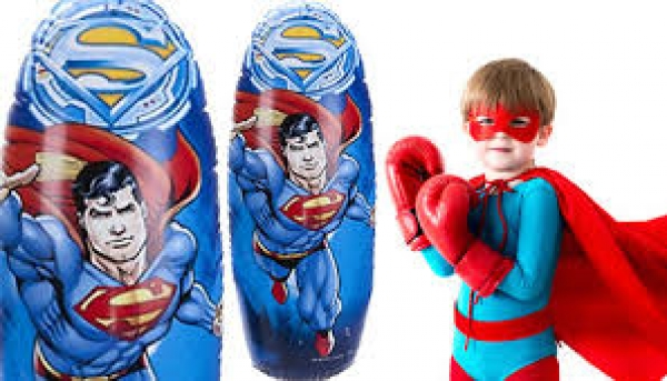 Sac de box gonflabil Super Man VIVO